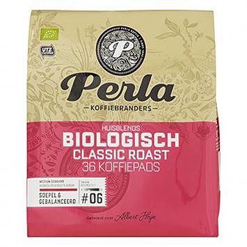 Perla Biologisch classic roast 36 koffiepads 250g
