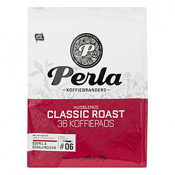 Perla Classic roasts 36 coffee pods 250g