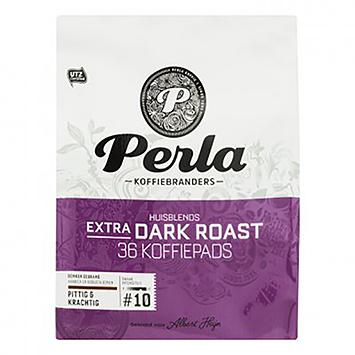 Perla Rôtis très sombres 36 dosettes de café 250g