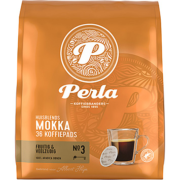 Perla Mokka 36 coffee pods 250g