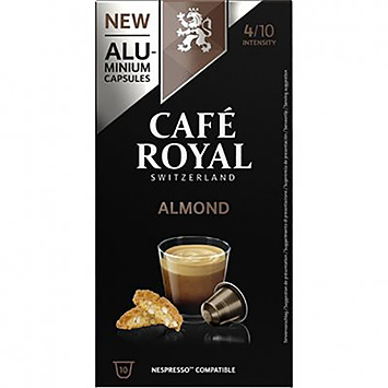 Café royal Almond 10 capsules 50g