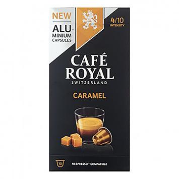 Café royal Caramel 10 capsules 50g