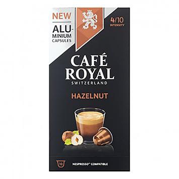 Café royal Hazelnut 10 capsules 50g