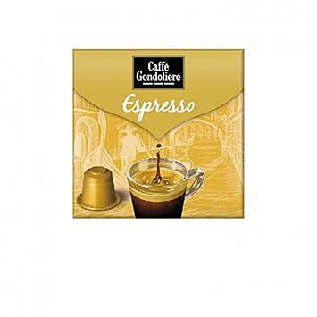 Caffè gondoliere Espresso 10 capsules 50g