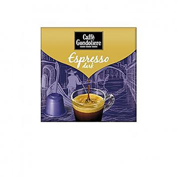Caffè gondoliere Espresso dark 10 capsules 50g