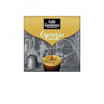 Caffè gondoliere Ristretto 10 capsules 55g
