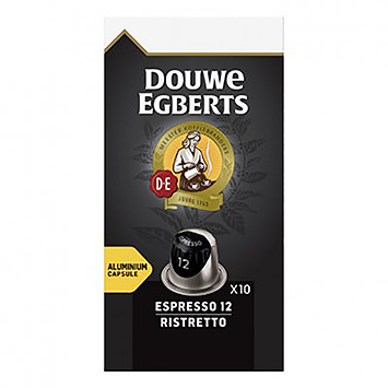 Douwe Egberts Espresso ristretto 10 capsules 52g