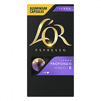 L'OR Espresso lungo profondo 10 capsules 52g