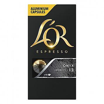L'OR Espresso onyx 10 capsules 52g