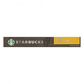 Starbucks Blonde 10 pièces capsules 53g