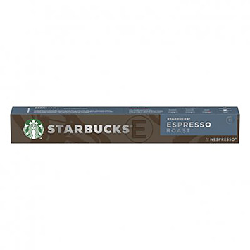 Starbucks Espresso roast 10 capsules 57g