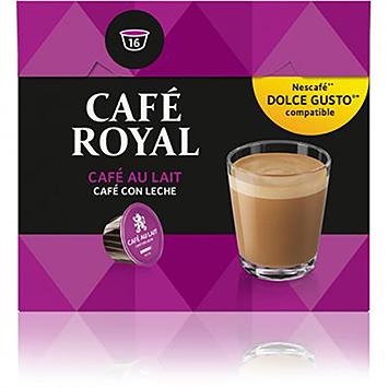 Café Royal Café Au Lait Dolce Gusto Compatible 16 Capsules 158g Holland Supermarket