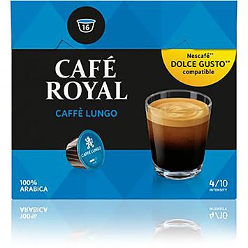 Café royal Caffè lungo dolce gusto compatible 16 capsules 102g