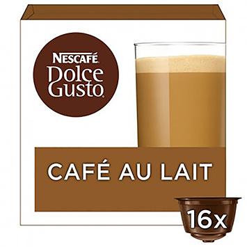 Nescafé Dolce gusto café au lait 16 capsules 160g