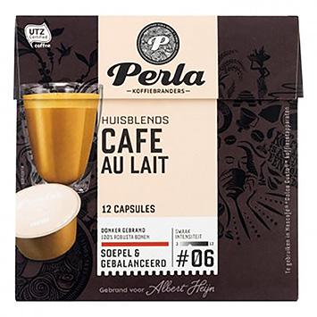 Perla Café au lait dolce Gusto kompatible 12 Kapseln 144g