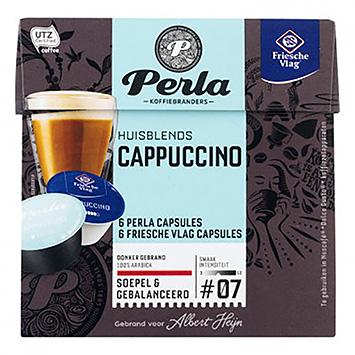 Perla Cappuccino dolce gusto compatible 12 capsules 120g