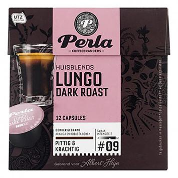 Perla Lungo rôti foncé dolce gusto compatible 12 capsules 90g