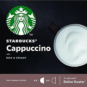 Starbucks Cappuccino dolce gusto compatible 12 capsules 120g