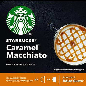 Starbucks Caramel macchiato dolce gusto compatible 12 capsules 128g