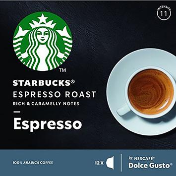 Starbucks Espresso dolce gusto-kompatible 12 kapsler 66g
