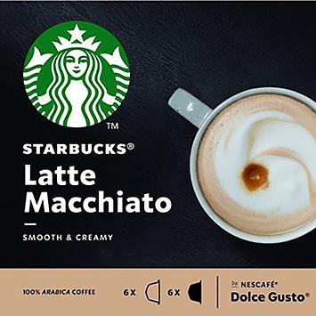 Starbucks Latte Macchiato Dolce Gusto kompatibel 12 Kapseln 129g