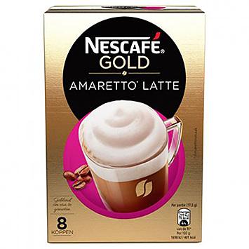 Nescafé Gold amaretto latte 8 sachets de 140g