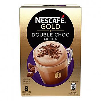 Nescafé Gold double chocolate mocha 8 cups 148g