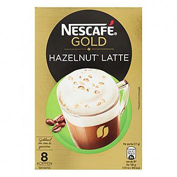 Nescafé Gold Latte Noisette 8 Tasses 136g