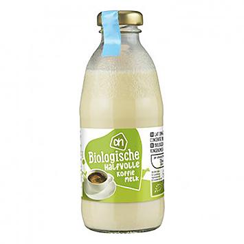 AH Bio café au lait demi-écrémé 186ml
