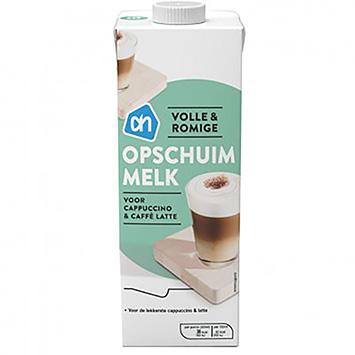 AH Opschuimmelk voor cappuccino en caffé latte 1000ml