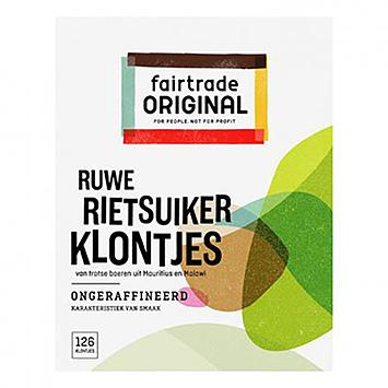 Cubes de sucre de canne brut Fairtrade Original 500g