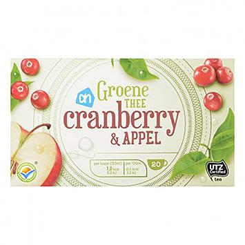 AH Green tea cranberry and apple 20 sachets 30g