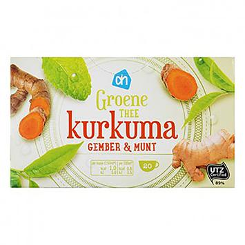 AH thé vert curcuma gingembre et menthe 20 sachets 30g
