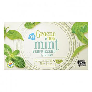 AH Groene thee mint verfrissend en intens 20 zakjes 26g