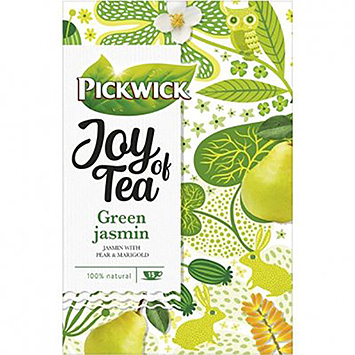 Pickwick Joy of tea green jasmin 15 bags 26g