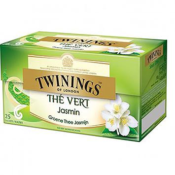 Twinings Thé Vert Jasmin 25 Sachets 40g