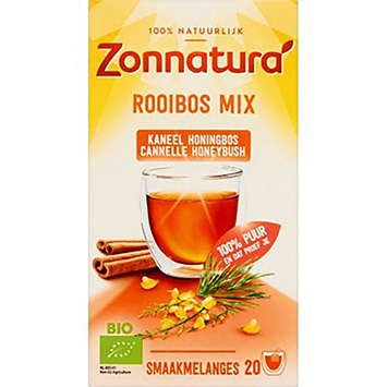 Zonnatura Rooibos mix cinnamon honey bunch 20 bags 38g