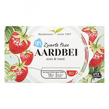 AH Thé noir fraise 20 sachets 30g