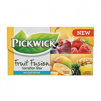 Pickwick Fruit fusions variation box 20 poser 32g