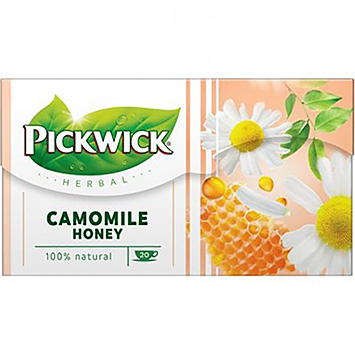 Pickwick Herbal camomile honey 20 bags 30g