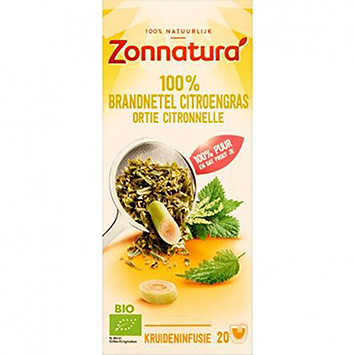 Zonnatura Kräutertee Brennnessel-Zitronengras 32g