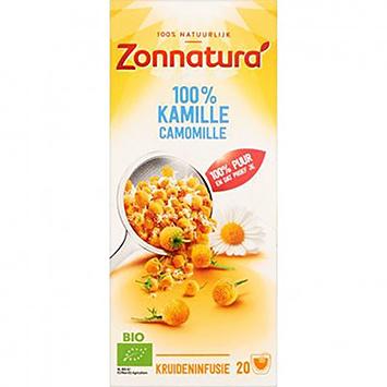 Zonnatura Kräutertee Kamille 27g