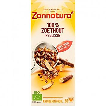 Zonnatura 100% Liquorice 20 sachets 35g