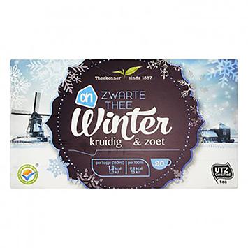 AH Zwarte thee winter kruidig en zoet 20 zakjes 30g