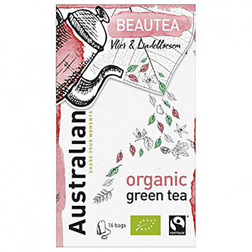 Australian Beautea elderberry and linden blossom 16 bags 26g