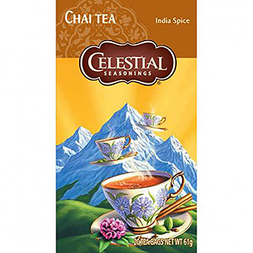 Celestial seasonings Chai tea 20 bags 61g