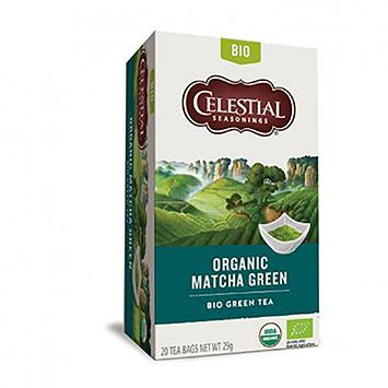 Celestial Seasonings Organic matcha green 20 bags 29g