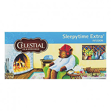 Celestial seasonings Sleepytime extra infusion 20 tea bags 35g