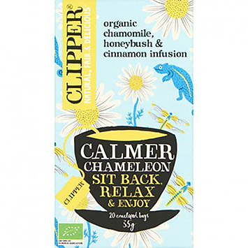 Clipper Calmer chameleon sit back relax and enjoy 20 bags 35g
