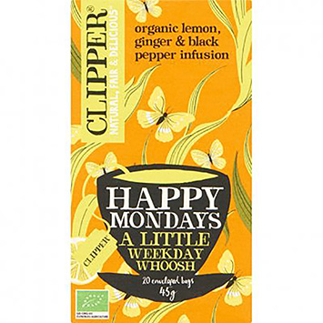 Clipper Happy mondays a little weekday whoosh 20 bags 45g